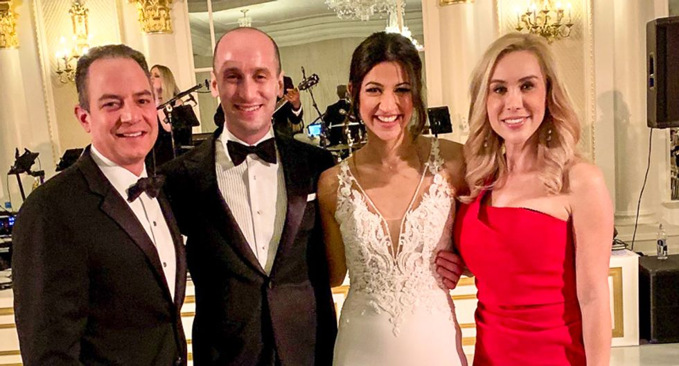Internet retches at Stephen Miller's wedding night: 'When they have babies, will they keep them in cages?'
