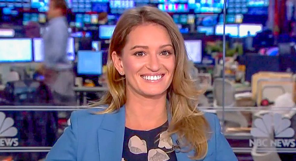 MSNBC's Katy Tur mocks Trump's new military branch by singing goofy 'Space Force' theme song