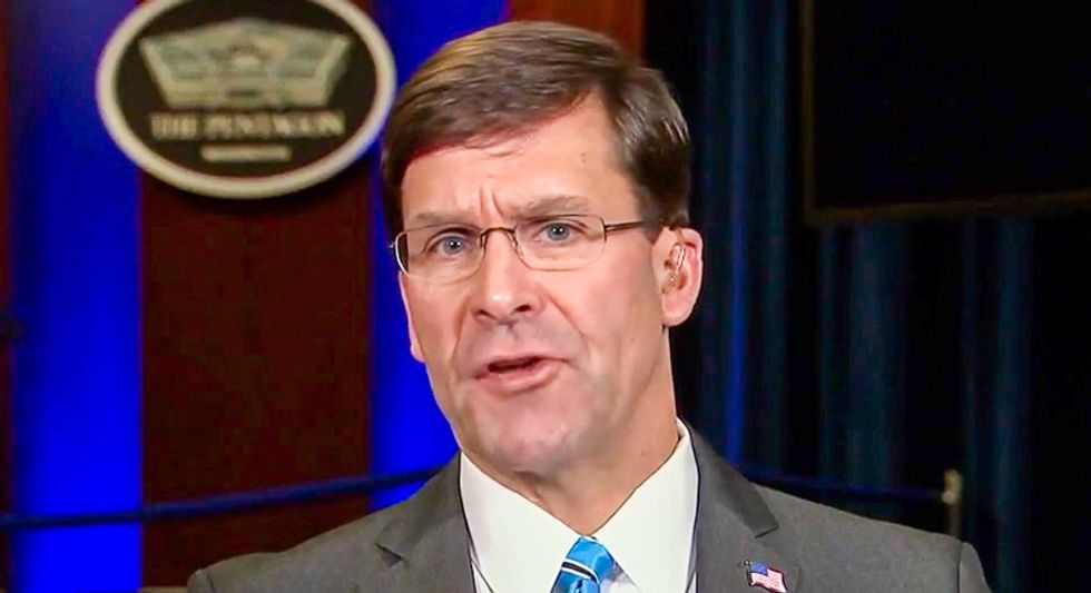 Defense Secretary's chief of staff leaving Pentagon amid escalating tensions with Iran