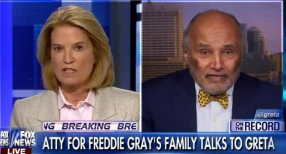 Attorney for Freddie Gray's family: Fox News' 'whole approach to the black community is racist'