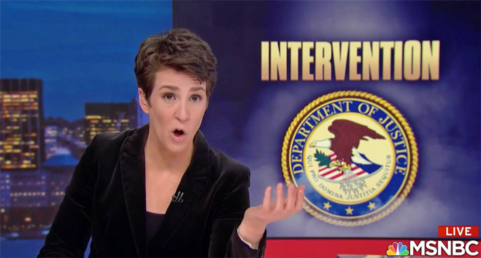 Maddow reports on 'doomsday scenario' that impacted America like a 'domestic nuclear bomb'