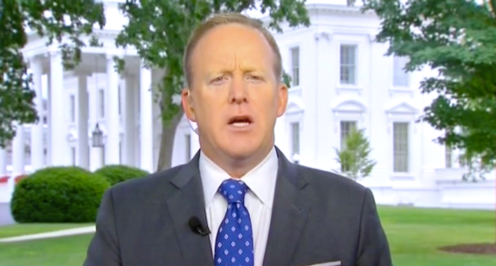 Sean Spicer: Trump's tape threat forced Comey to tell the truth