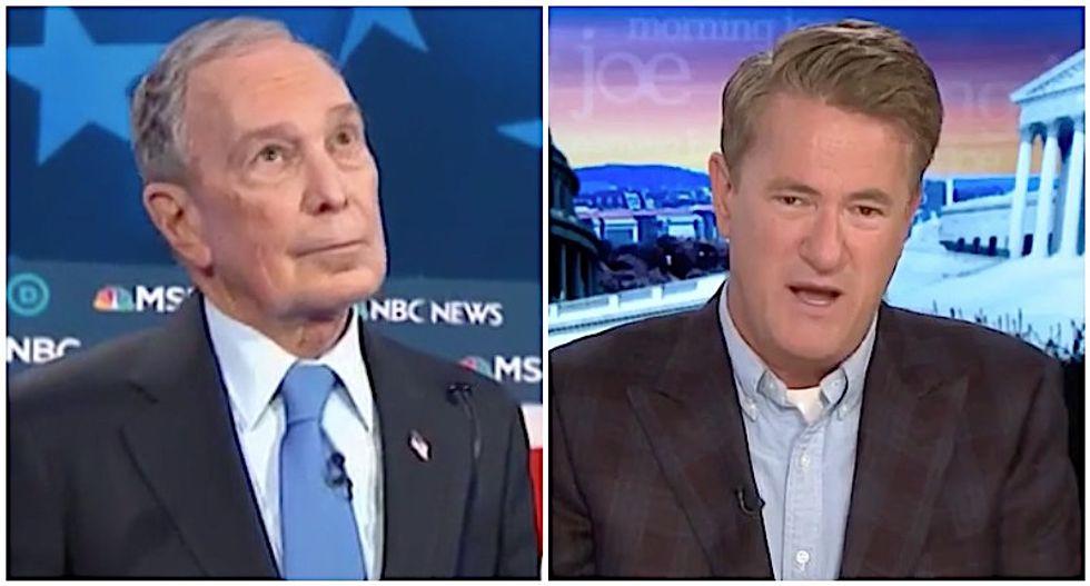 MSNBC's Morning Joe shreds Bloomberg for flunking 'politics 101' in first debate
