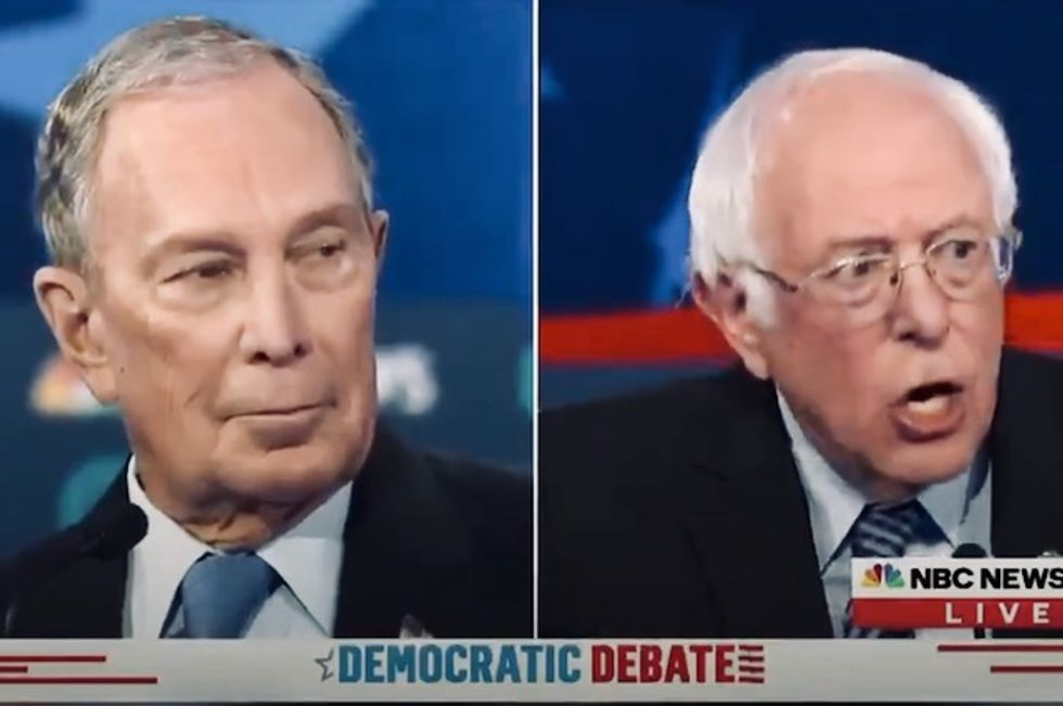 Bloomberg planning all-out media assault on Sanders ahead of Super Tuesday