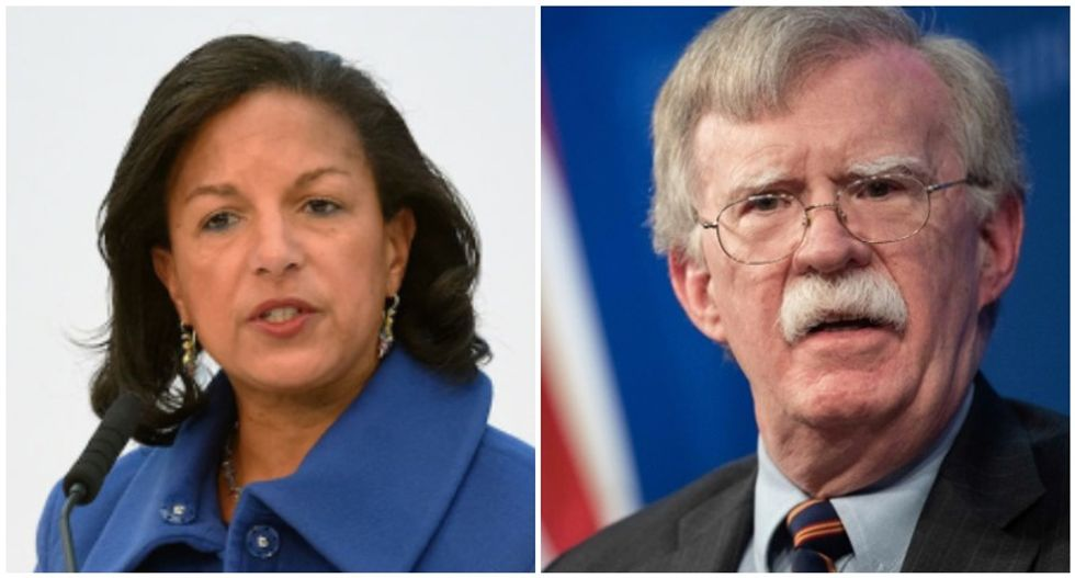 Susan Rice confronts John Bolton face to face over impeachment failure: 'I can't imagine withholding my testimony'
