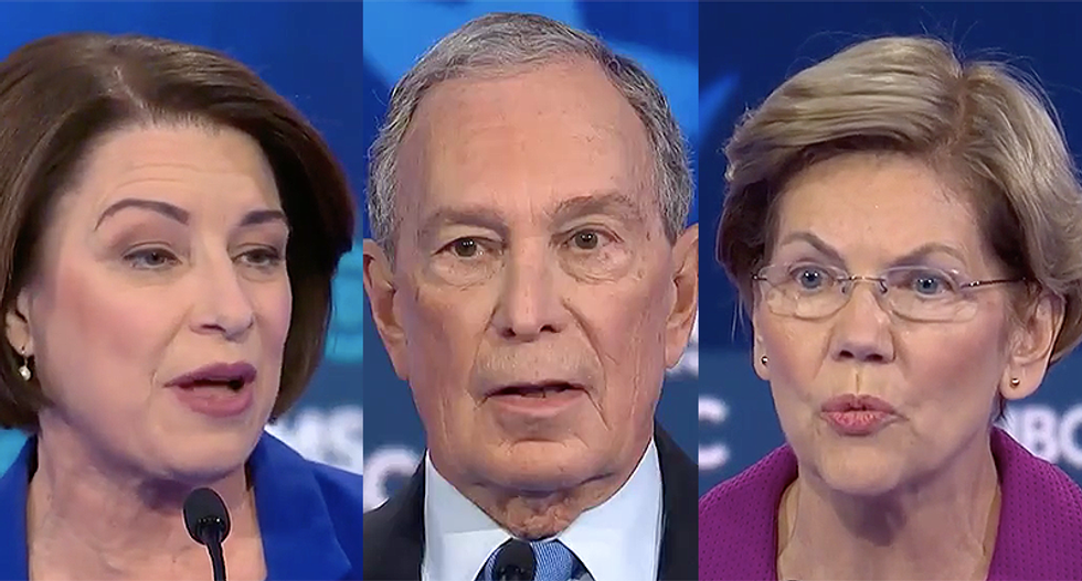The two biggest attacks on Mike Bloomberg came from the women at the debate