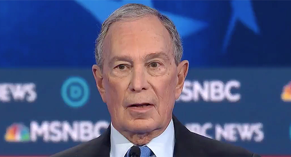 'Woefully out-of-touch': Mike Bloomberg burned to the ground over Flint, Michigan complaints