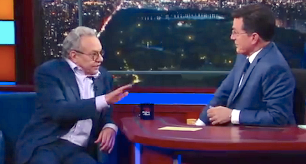 Lewis Black tells Stephen Colbert why he's so angry: 'I wake up optimistic -- then I read the paper'