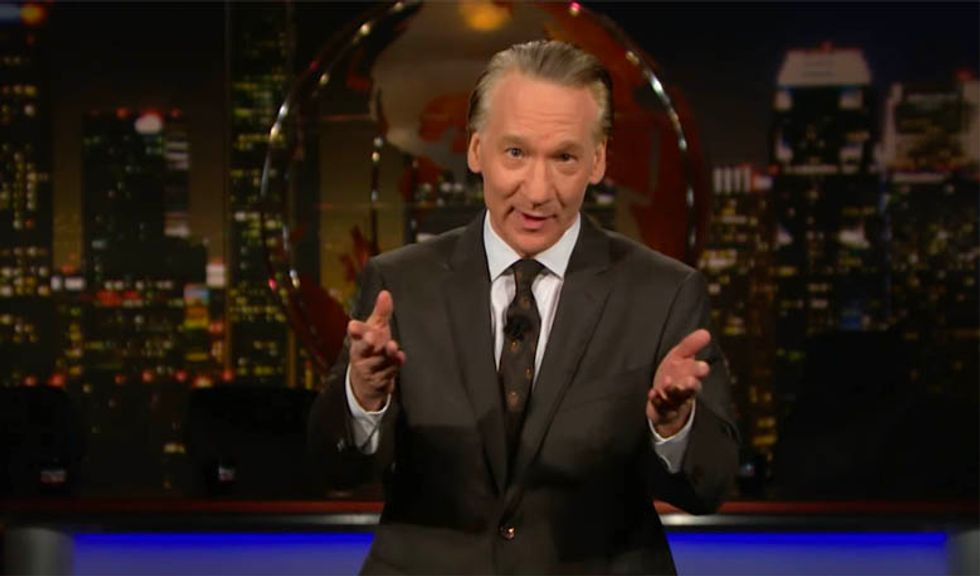 Bill Maher calls BS on claim VA scandal is 'distracting' Trump: 'All he does is play golf, watch TV and eat'