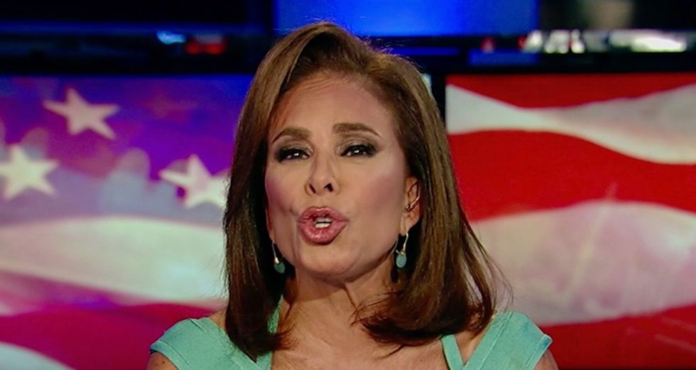 Fox News host Jeanine Pirro debuts bonkers new theory about Bob Mueller taking pay-off from Russian oligarch