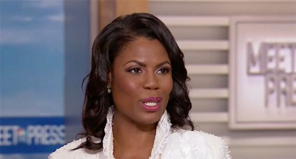 Justice Department sues Omarosa Manigault Newman over financial disclosures