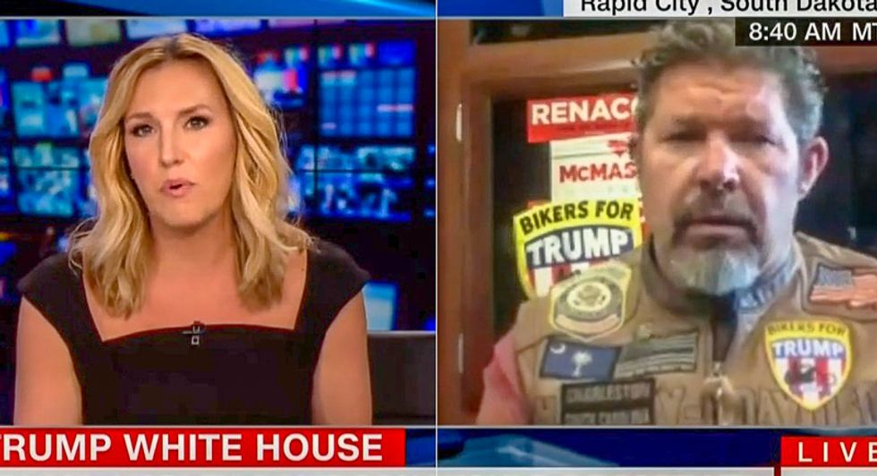 CNN host stomps on Bikers for Trump's Harley-Davidson boycott by revealing group T-shirts are made in Haiti