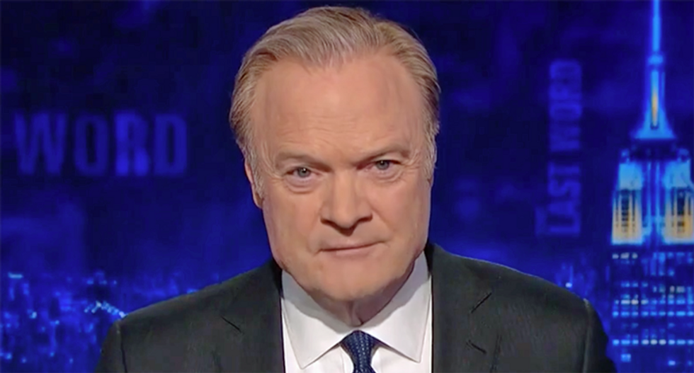 MSNBC's Lawrence O'Donnell praised for summing up Trump's mental state in less than 10 words