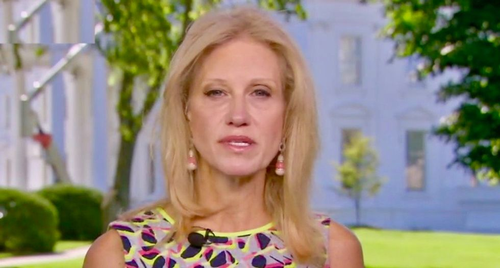 Trump embarrassed Kellyanne Conway in front of journalist for limiting his ability to polish his image: report