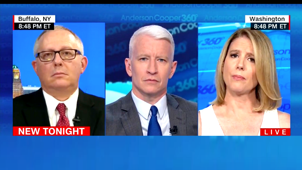 CNN panel goes off the rails as Trump lover shouts down Kirsten Powers claiming Kavanaugh's accusers came forward for 'ratings'