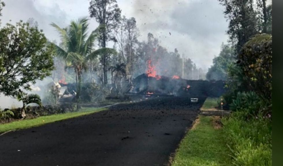 Hawaii's Big Island on high alert after earthquakes, lava fissures