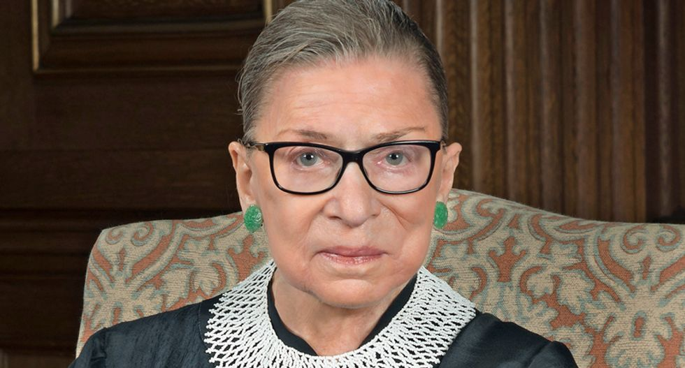 Ruth Bader Ginsburg destroys Trump solicitor general in live hearing from her hospital bed