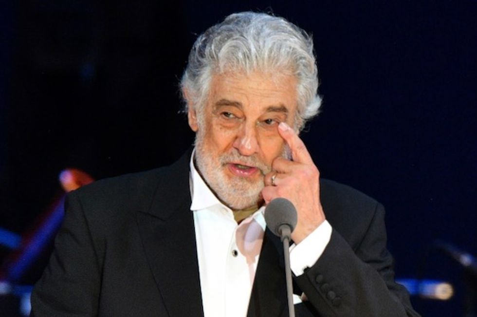 Placido Domingo insists 'I have never abused anyone'
