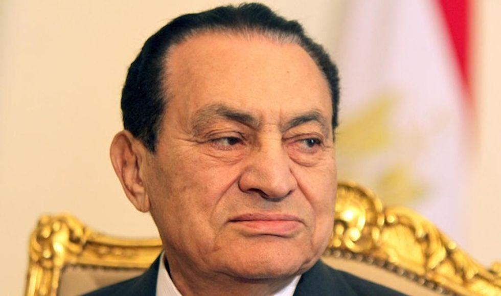 Egypt's ousted president Hosni Mubarak dies at 91