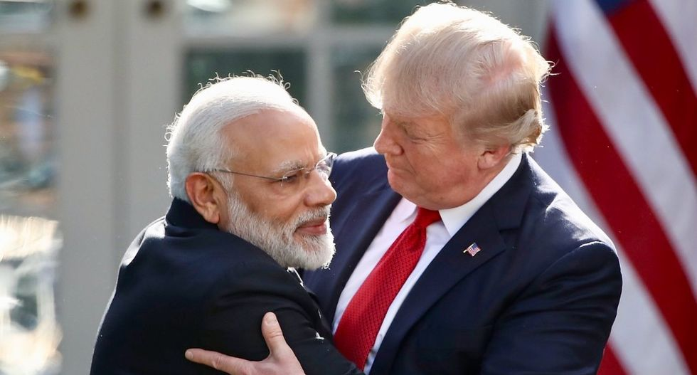 Fury in India as Trump claims Modi asked for Kashmir mediation