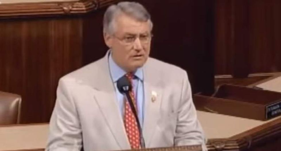 GOP congressman has no regrets about quoting Bible verse that condemned gays as 'worthy of death'