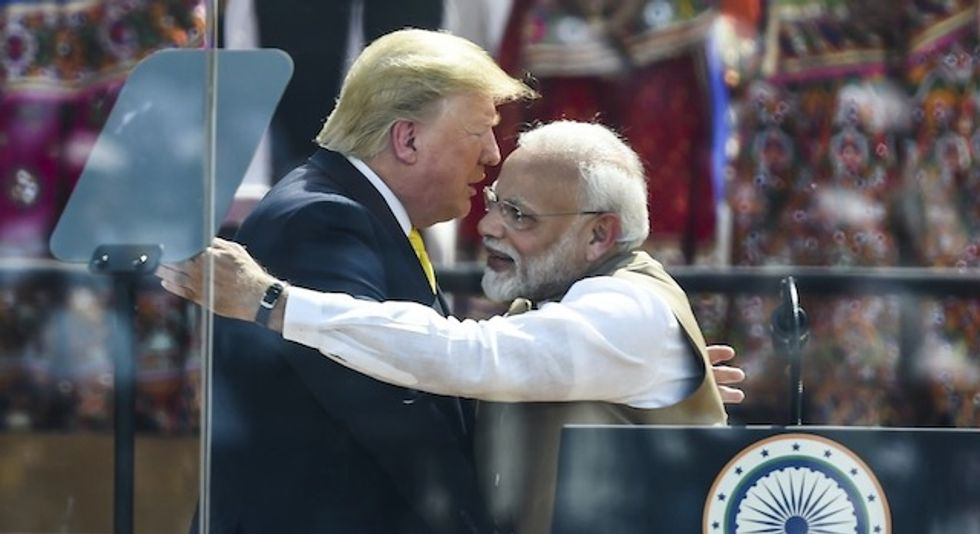 'The worst kind of fascists': Trump announces $3 Billion arms deal at India visit