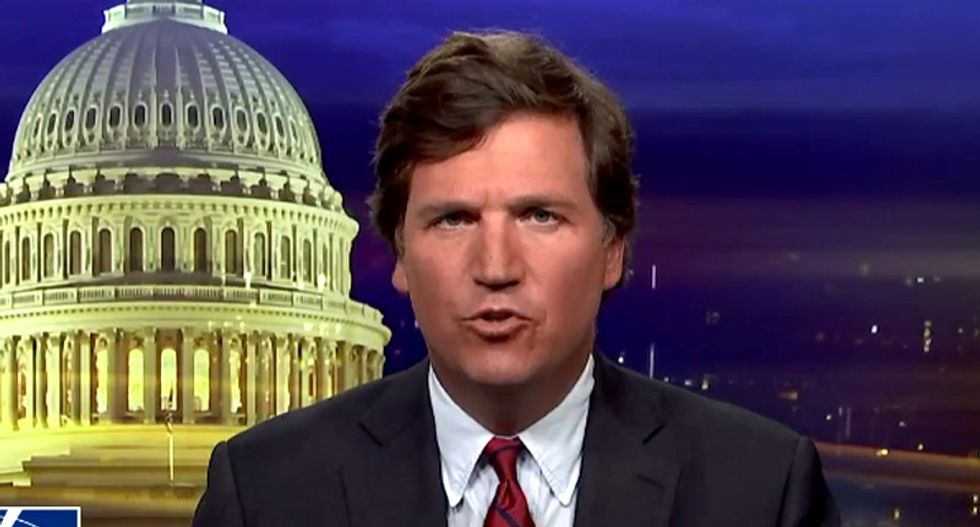 Tucker Carlson claims there's no white nationalism -- but his own Fox News show suggests otherwise