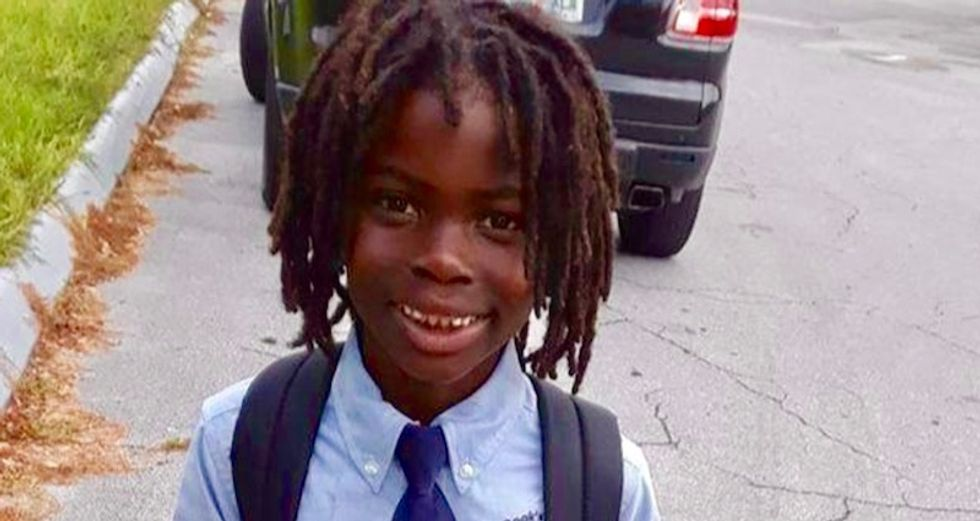 Black boy turned away from Florida Christian school over natural hair