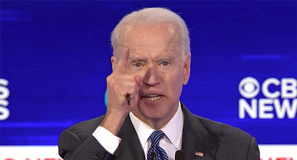 Biden rips Trump as a threat to democracy: 'The most corrupt president in modern American history'