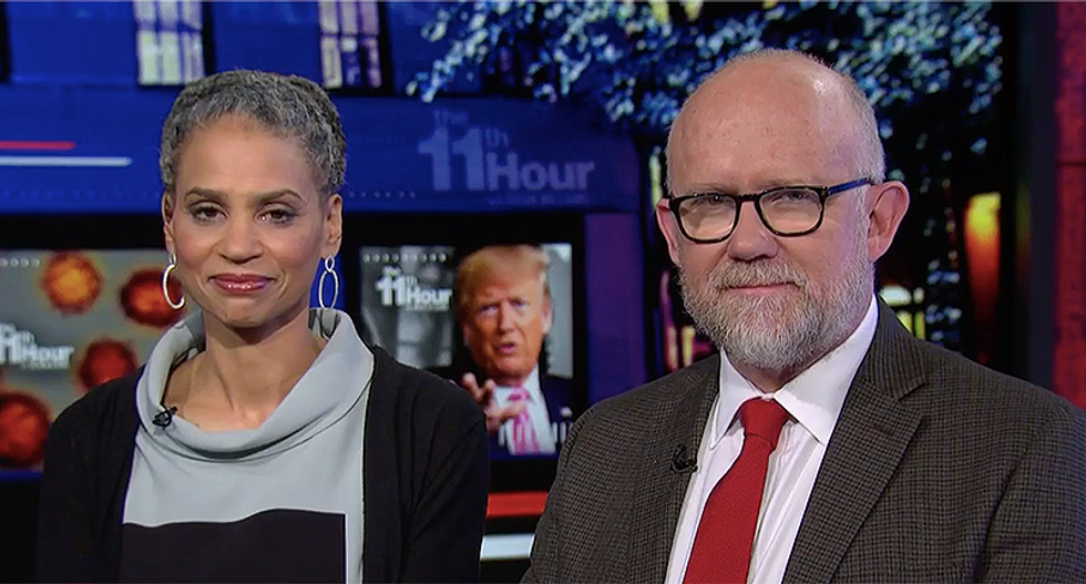 'Rather than leading -- he lies': MSNBC panel says Trump is a 'danger to the country' because he can't be trusted