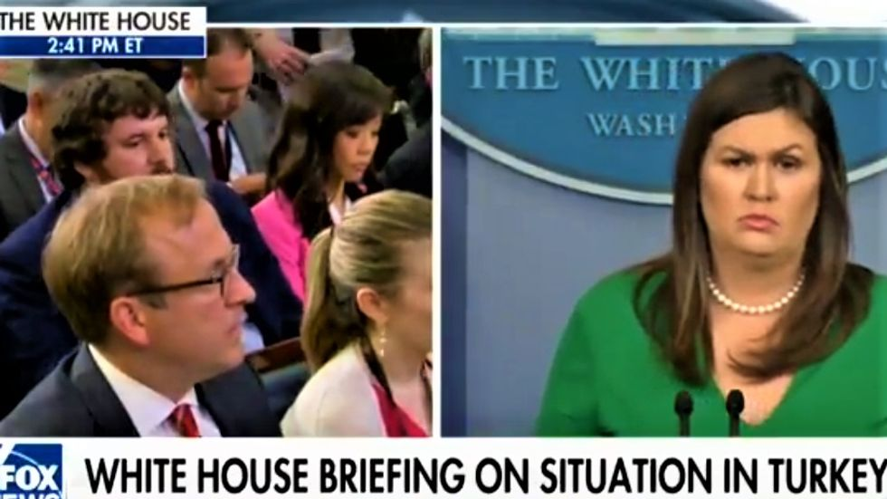 Reporter wrecks Trump's rationale for revoking Brennan's clearance by pointing out they haven't revoked Flynn's
