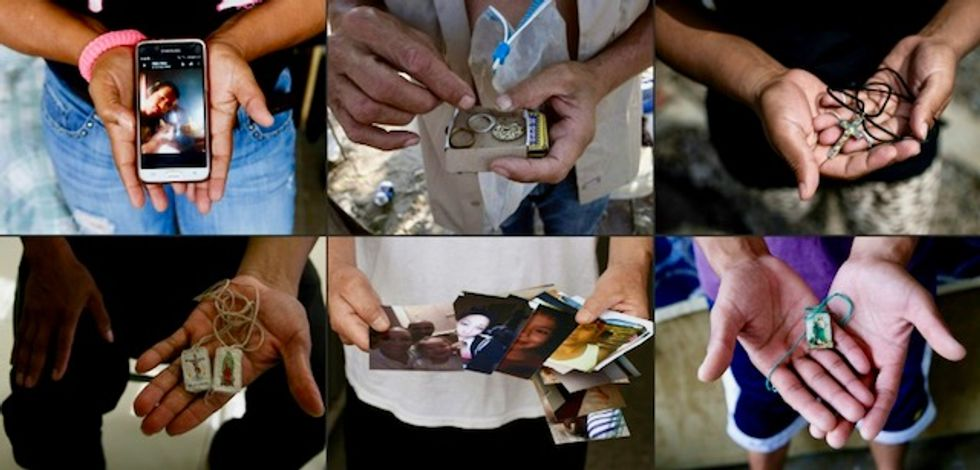 A day in the life of seven migrants crossing Mexico