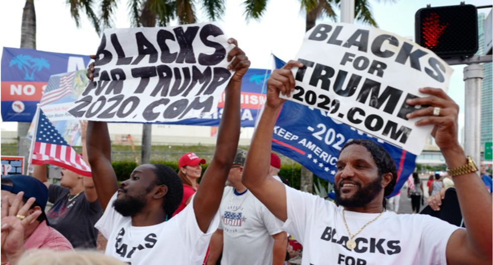 Trump campaign targets black voters with retail pop-up stores