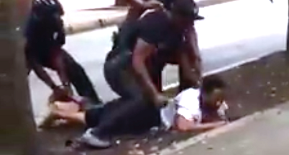 Video shows Atlanta cop repeatedly punching compliant man in head during arrest