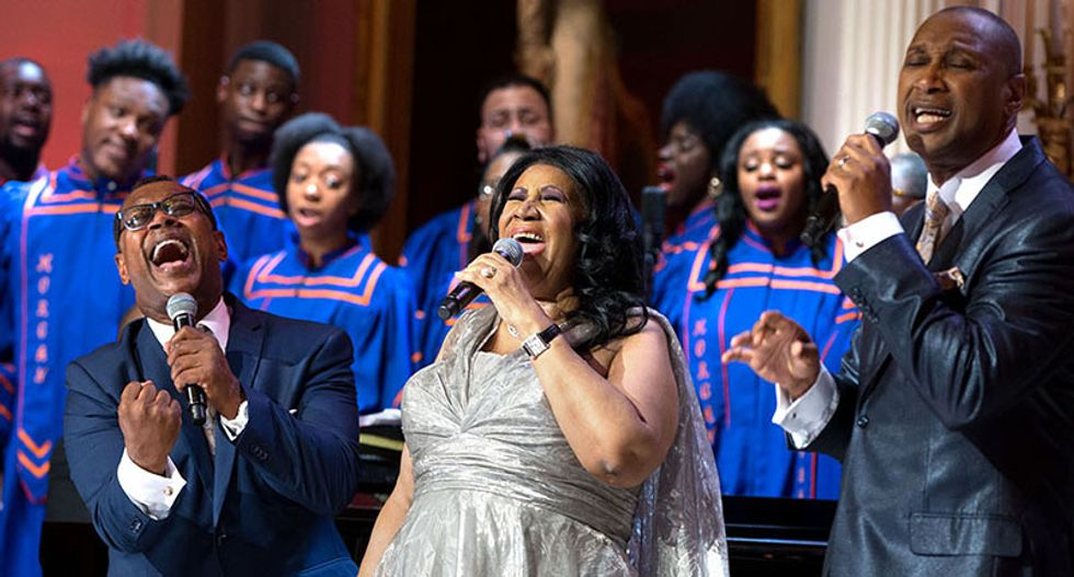 Veteran newsman Dan Rather remembers the way Aretha Franklin 'could shake the heavens'