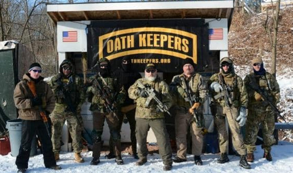 Extremist militia groups are 'turning on themselves' -- and 'starting to go underground': MSNBC reporter