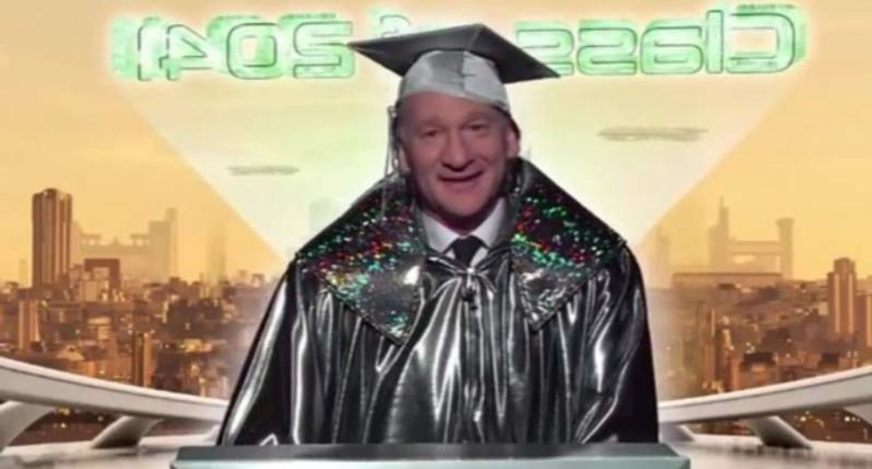 Bill Maher's message for the Class of 2045: 'The world is your oyster -- but the oysters are dead'