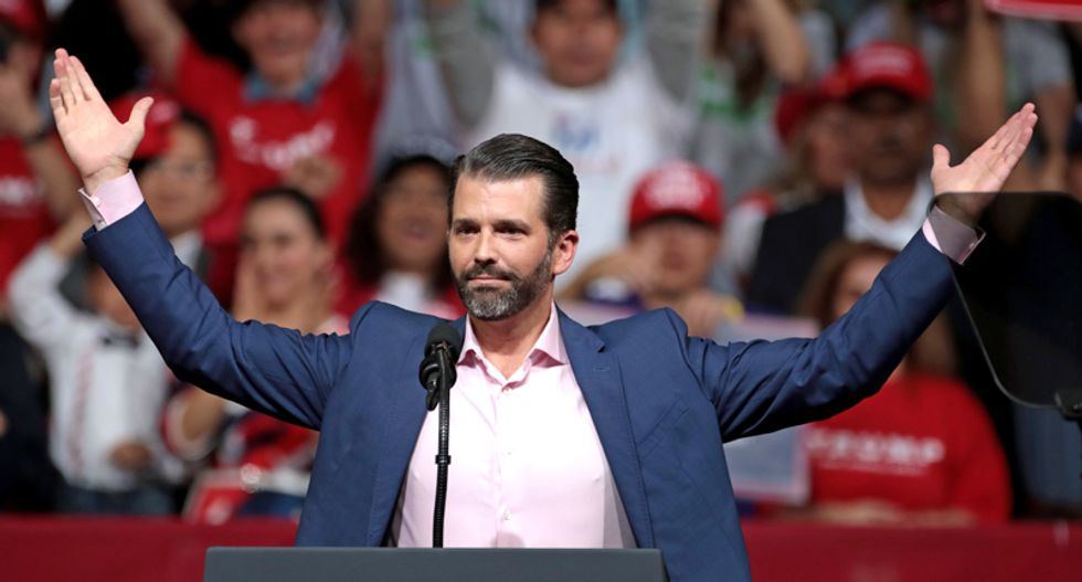 Donald Trump Jr. swears he's not a grifter -- even after the RNC and conservative groups bought out his book in bulk