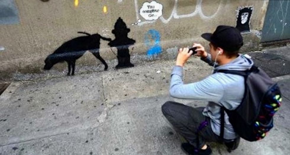 Bemused Banksy says 'nothing to do with' major Russian exhibition