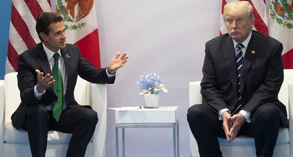 Mexico slaps back Trump's claim that it will pay for the wall: 'We will NEVER pay for it'