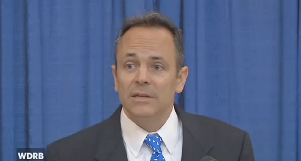 Kentucky's Republican governor just signed a bill allowing the Bible to be taught in public schools