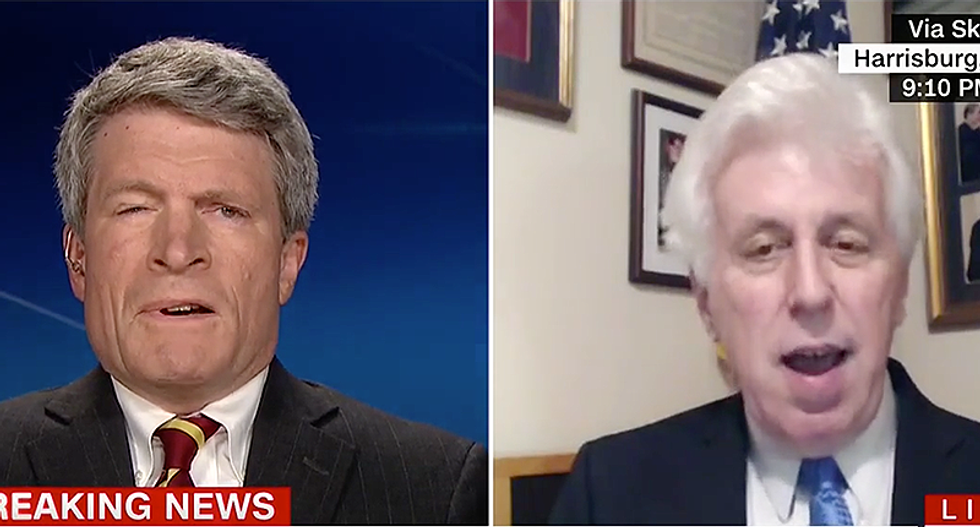 'Disgusting': George Bush's ethics lawyer wipes the floor with Jeffrey Lord over Trump hotel fundraiser