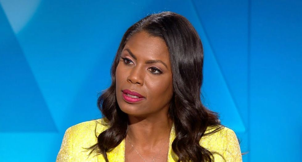 Omarosa's PR team cuts off TMZ interview after Harvey Levin pushes on why she didn't quit after N-word