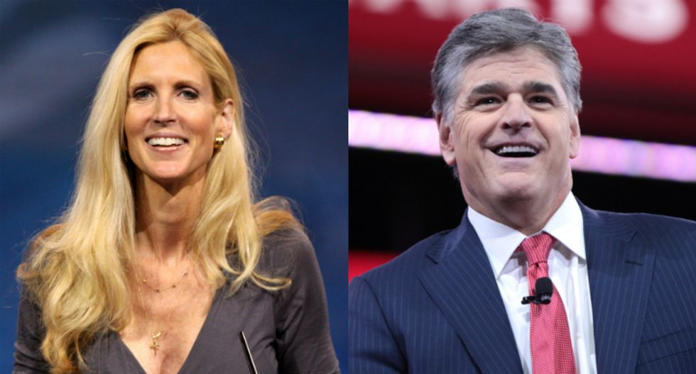 Ann Coulter elevates GOP in-fighting with tirade against Trump apologist Sean Hannity: 'Bless his heart'