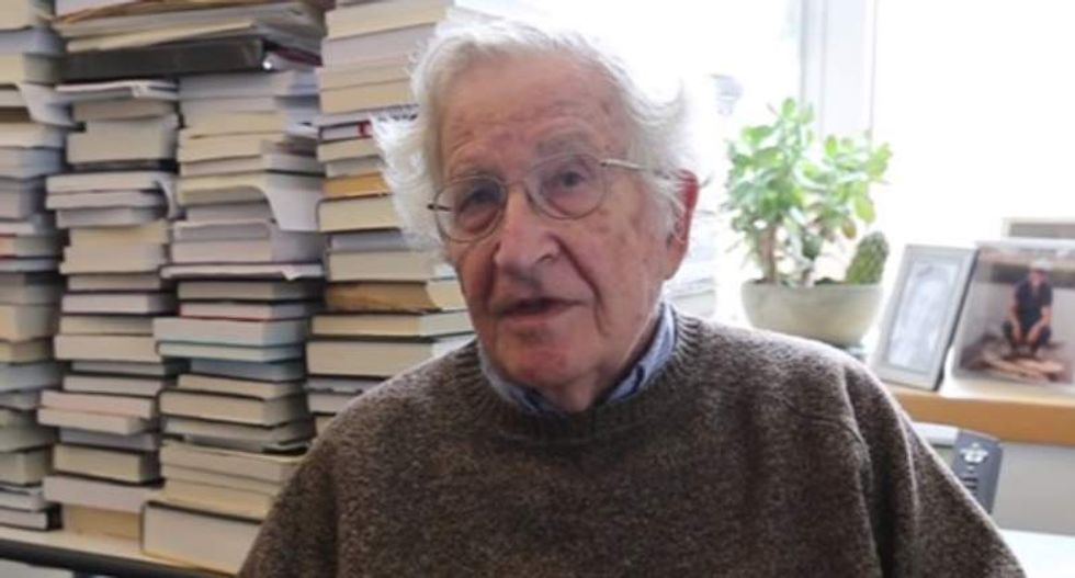 'Ridicule is not enough': Noam Chomsky explains how to battle 'Trump's misdeeds and absurdities'