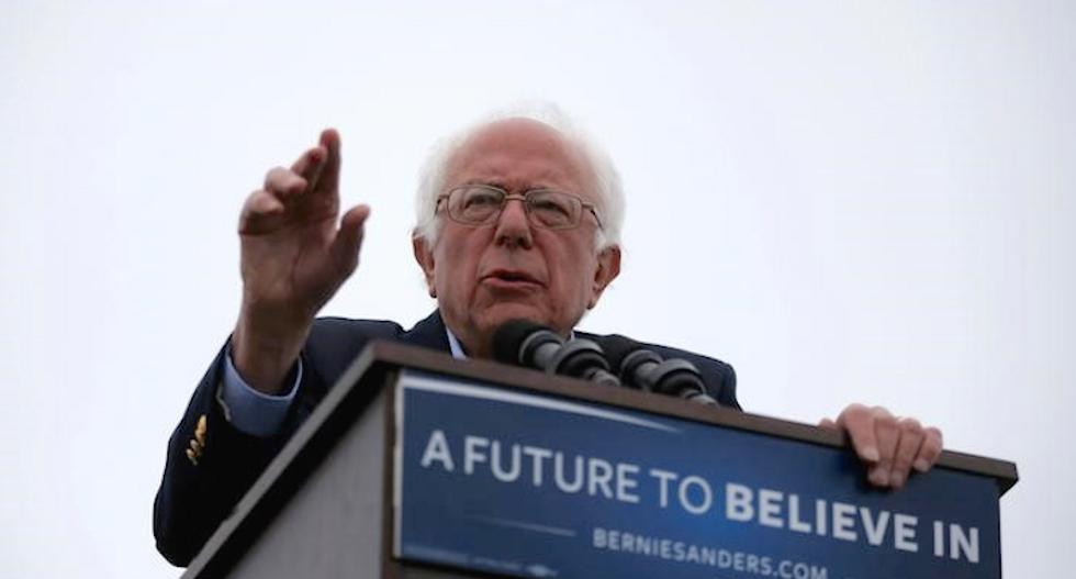 Bernie Sanders says he will meet with Hillary Clinton on Tuesday