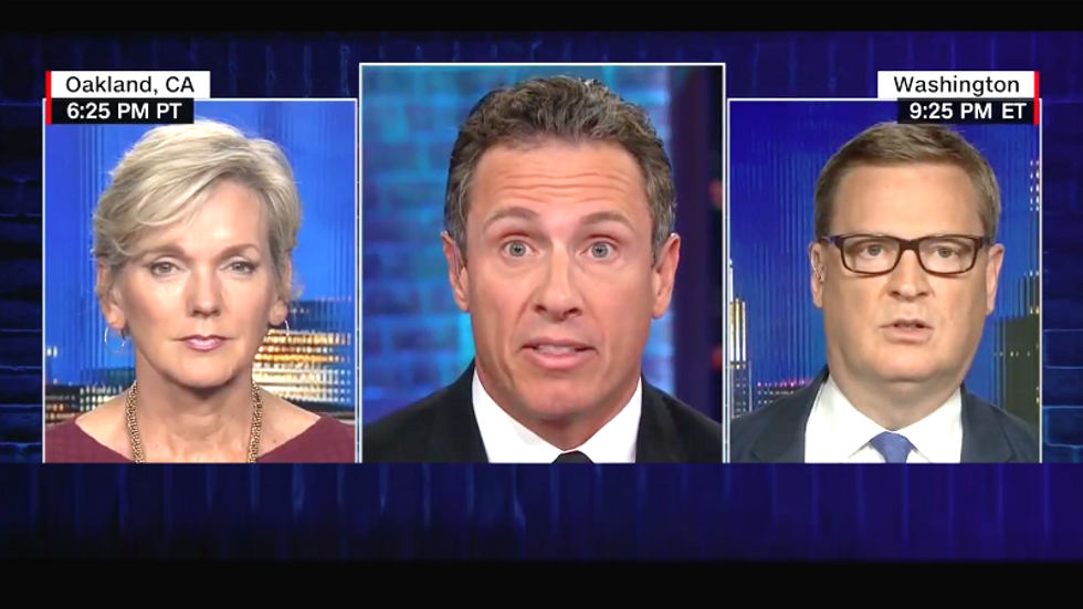 WATCH: CNN's Chris Cuomo hammers GOP's Mike Shields over hypocrisy on security clearances