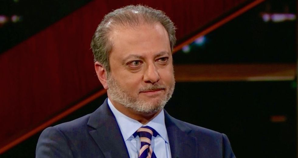 'God bless the Deep State': Preet Bharara tells HBO's Bill Maher why US attorneys can take down Trump