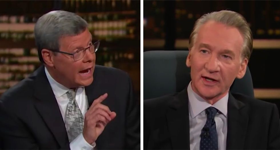 WATCH: Conservative Charlie Sykes and Bill Maher explain how the GOP can stop Trump from being re-elected