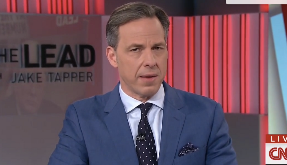 'How's that anti-cyberbullying campaign going?': CNN's Tapper blasts Trumps over 'facelift' tweets